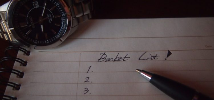Bucket lista przed testamentem